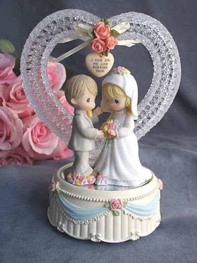 Cheap Wedding Cake Topper on Precious Moments Cake Toppers  Precious Moments Wedding Accessories