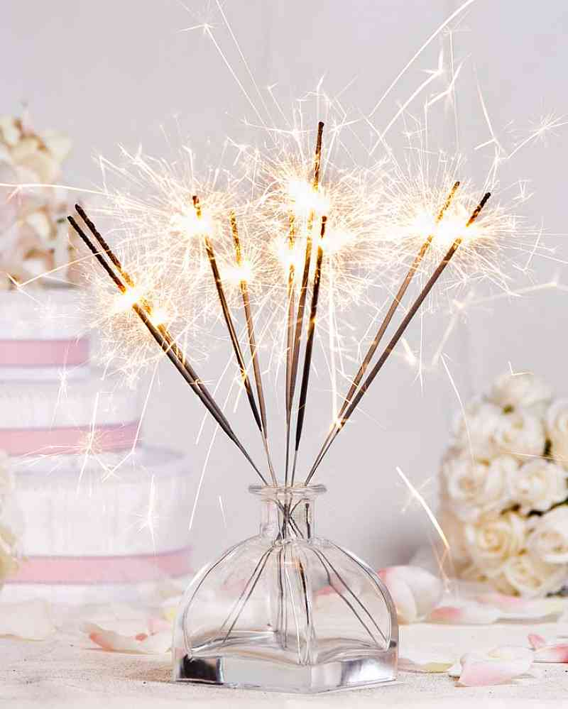 A Perfect Sparkle- Wedding Sparklers