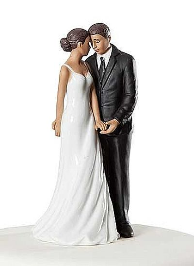Wedding Bliss African American Cake Topper
