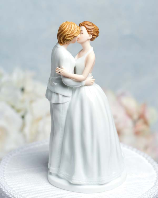Gay Wedding Cake Topper Ornaments