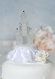 Cinderella Castle Wedding Cake Topper