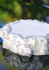 Persian Embroidery Porcelain Base