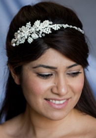 Eden Crystal Flower Headband