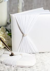 Crystal Elegance Wedding Guestbook