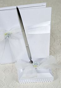 Hydrangea Wedding Pen Holder