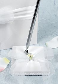 Daisy Wedding Pen Holder