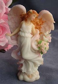 "Seraphim Classics ® ""Harmony"" Love's Guardian Wedding Angel Cake Topper"