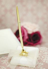 Cinderella Fairy Tale Coach Wedding Pen Holder