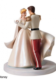 "Walt Disney Classics � Cinderella and Prince Charming ""Happily Ever After"" Cake Topper Figurine"